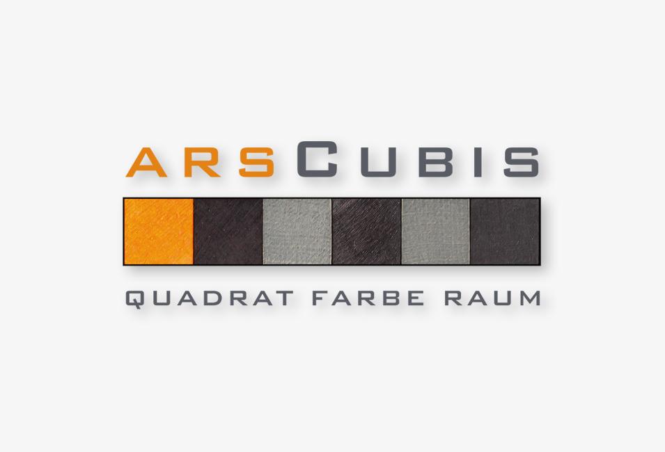ArsCubis Logo - Quadrat Farbe Raum