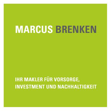 Marcus Brenken Logo mit grünem Untergrund