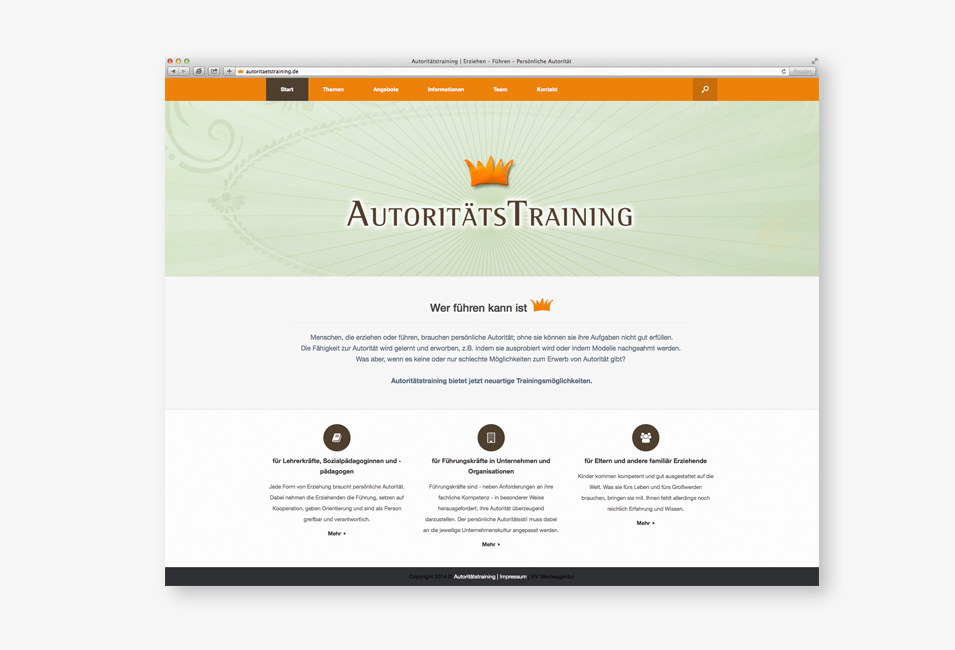 autoritaetstraining-website