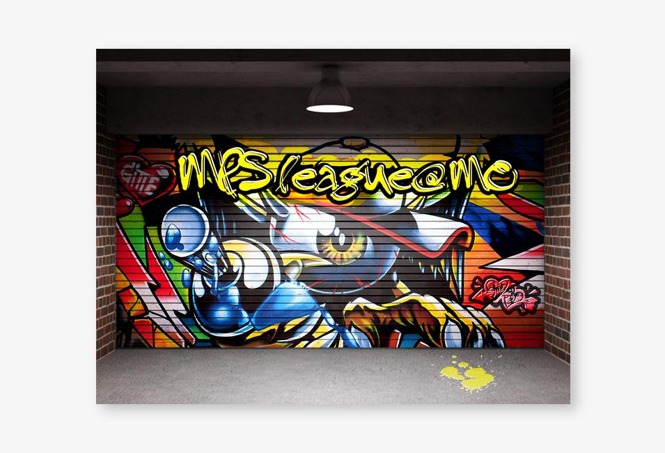 daimler-graffiti-league